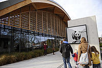 Visiting the Living Planet Centre, Woking