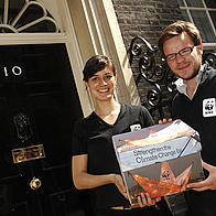 Young ambassadors take Get on Board to Number 10
