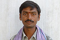Adidela Shrinivas Reddy, a farmer facilitator in Koppula village, Warangal district.