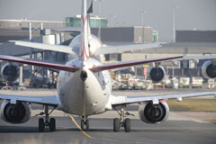 Aeroplanes on airfield