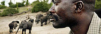 Bevan Munali - highly respected field coordinator at Caprivi conservancy in Namibia