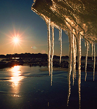 Icicles, Canadian Arctic