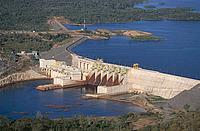 The Cana Brava Dam, near Minacu, Brazil