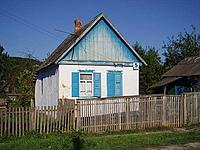 Local house in the Russian Caucasus