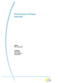 Front cover for the Economics of Airport Expansion report.