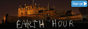 Earth Hour Scotland sign up