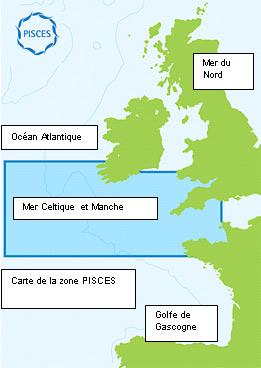 PISCES map