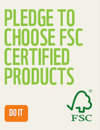 Pledge to choose FSC certified products