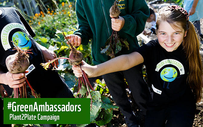 Green Ambassadors Plant2Plate campaign