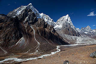 Landslide, Everest region