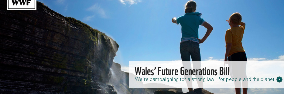 Future Generations Bill Wales banner
