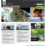 WWF-UK new website homepage