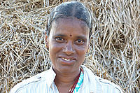 Lalitha, Farmer in the Pragathi Singaram village, Warangal district.