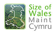 Size of Wales project logo