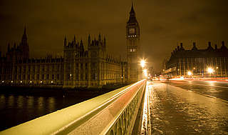 Earth Hour - Houses of Parliament and Big Ben