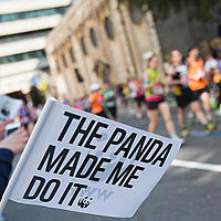 WWF at the London marathon