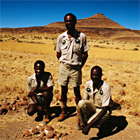 WWF Community Game Guards Kunene Province Namibia