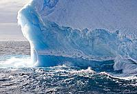 Iceberg in Antarctic Ocean