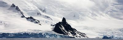 Antarctic shoreline