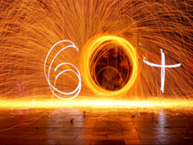Earth Hour 2013 is about more than an hour - 60+ lightwriting