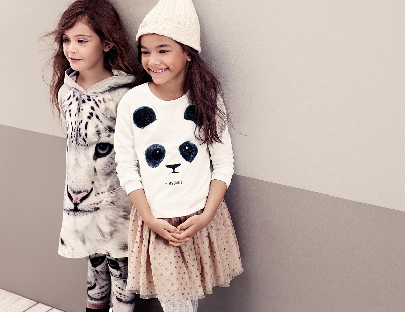 Wildlife inspired children's collection
