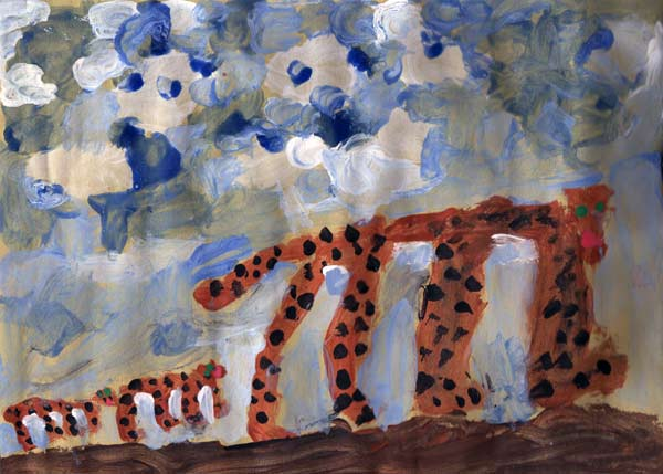 Leopard © Lucy Beckley