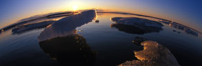Melting sea ice © National Geographic