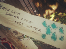 Save precious water