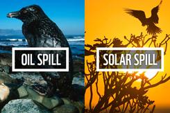 Solar spill v oil spill