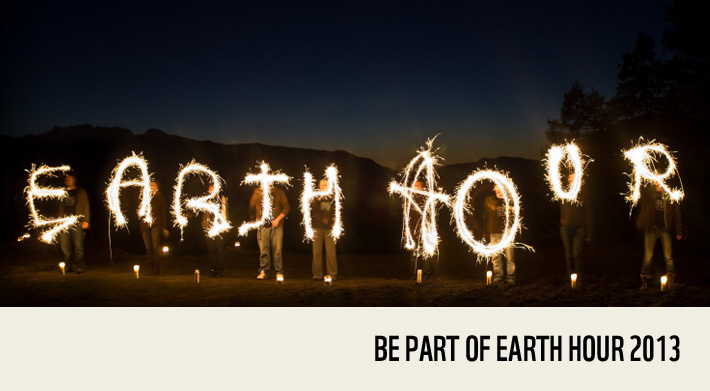 McFly on Earth Hour 2013 © Richard Stonehouse / WWF-UK