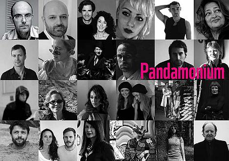 Artists participating in Pandamonium 2012