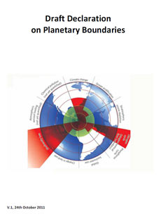 Draft Declaration on Planetary Boundaries
