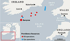 Resources' operations in the Celtic Sea