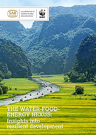 Cover of the 2014 water-food-energy nexus report