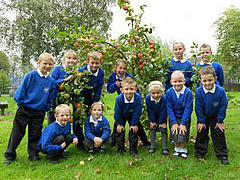 Photo of St Marks CE Primary, who won the Sky Rainforest Schools Challenge 2012