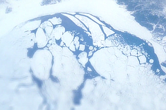 Polar ice from space