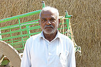 Suram Narsimha Reddy, a farmer from the 