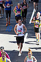 Barefoot runner Luke Jones from New Malden runs London Marathon 2014 shoeless.