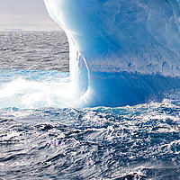 Iceberg in Antarctic