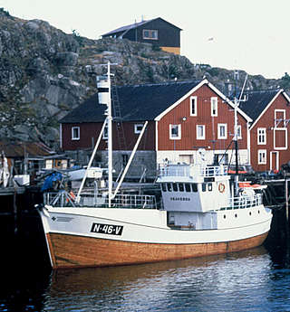 Harbour of Skrova, a whaling community