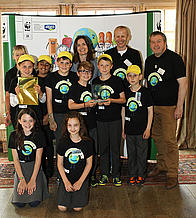 Green Ambassadors Food and Growing Award 2014, Wicor Primary School