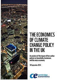 The economics of climate change policy in the UK