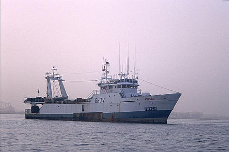 Spanish fishing boat for PISCES